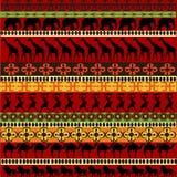 Textura africana con los animales Fotos de archivo libres de regalías