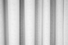 Textura agitada blanca abstracta de la tela Fotos de archivo