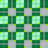 Textura agradable con las figuras geométricas verdes Fotografía de archivo