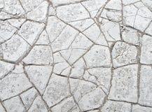 Textura agrietada seca del fango Imagen de archivo