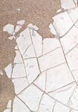 Textura agrietada seca del fango Fotografía de archivo