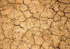 Textura agrietada sequía del suelo fotos de archivo libres de regalías