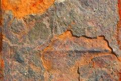 Textura aherrumbrada del metal Imagen de archivo