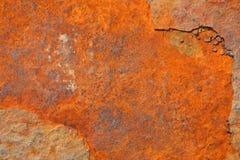 Textura aherrumbrada del metal Fotografía de archivo libre de regalías