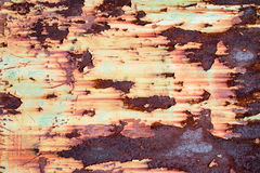 Textura aherrumbrada del metal Fotos de archivo