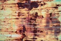 Textura aherrumbrada del metal Foto de archivo libre de regalías