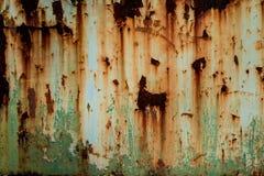 Textura aherrumbrada del metal Fotos de archivo libres de regalías