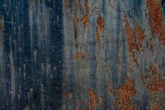 Textura aherrumbrada del metal Foto de archivo