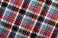 Textura ajustada de la materia textil Foto de archivo