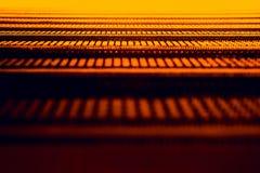 Textura alaranjada abstrata Imagens de Stock