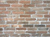 A textura alaranjada da parede de tijolo do grunge manchou o fundo fotos de stock royalty free