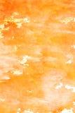 Textura alaranjada do grunge Imagens de Stock