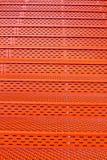 textura alaranjada metálica Amsterdão do fundo da escadaria imagem de stock royalty free