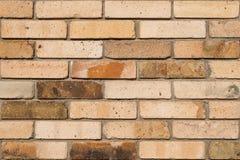 Textura alaranjada velha detalhada da foto do fundo da parede de tijolo imagens de stock royalty free