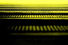 Textura amarela abstrata Foto de Stock