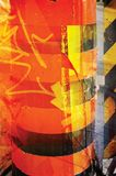 Textura amarela/alaranjada Imagens de Stock