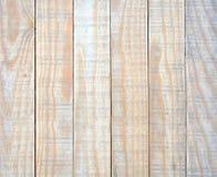 Textura amarela da madeira das pranchas Fotografia de Stock Royalty Free