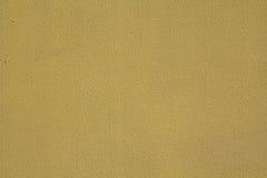 Textura amarela da parede Fotografia de Stock