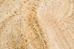 Textura amarela da rocha Foto de Stock