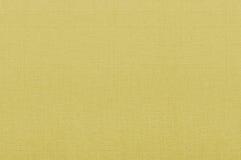 Textura amarela da tela Fotos de Stock Royalty Free