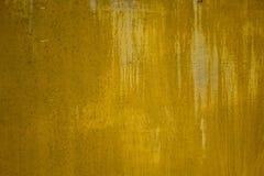 Textura amarela do Grunge Foto de Stock Royalty Free