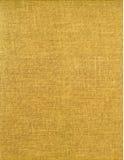 Textura amarela dourada retro Fotografia de Stock