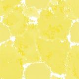 textura amarela Fundo murble do vetor Ilustração marmoreando tirada mão da aquarela, cópia do aqua Manchas brilhantes do colorful Foto de Stock Royalty Free