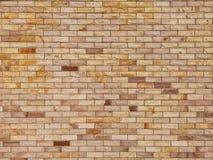 Textura amarela velha da parede de tijolo, estilo do vintage imagens de stock royalty free
