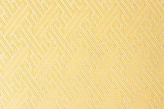Textura amarilla de la materia textil de la tela del primer Imagenes de archivo