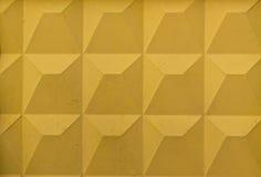 Textura amarilla de la pared Imágenes de archivo libres de regalías