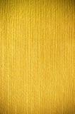 Textura amarilla de la tela Foto de archivo