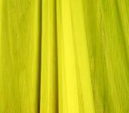 Textura amarilla de la tela Fotos de archivo
