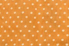 Textura amarilla del paño Fotos de archivo