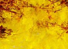 Textura amarilla y roja para el fondo o el papel pintado Fotografía de archivo libre de regalías