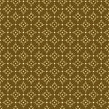 Textura amarillenta oscura geométrica inconsútil Imagenes de archivo