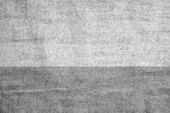 Textura amarrotada cinza de matéria têxtil de pano Fotografia de Stock Royalty Free