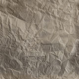 Textura amarrotada de Brown jornal sem emenda imagem de stock