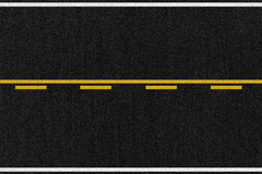 Textura americana del asfalto del camino Libre Illustration