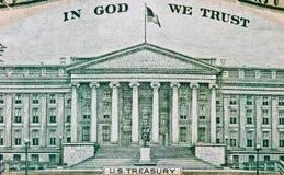 Textura americana do dólar Fotografia de Stock