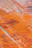 textura anaranjada abstracta con aceite imagen de archivo