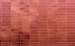 Textura anaranjada de la pared de ladrillo foto de archivo libre de regalías