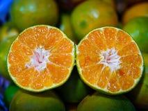 Textura anaranjada después del corte fotografía de archivo