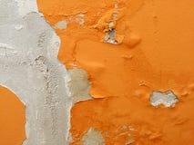 Textura anaranjada en la pared foto de archivo