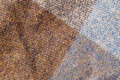 Textura angulosa colorida de la tela imagen de archivo