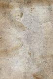 Textura antiga do papel de pergaminho do grunge Fotografia de Stock