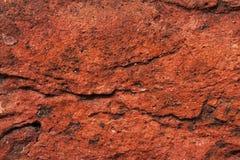 Textura antigua del ladrillo rojo Foto de archivo libre de regalías