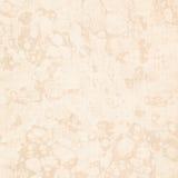 Textura antigua veteada crema del papel del sujetalibros Foto de archivo