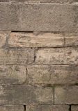 Textura apilada de la pared de piedra Imagenes de archivo