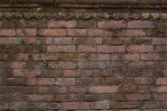 Textura apilada del ladrillo Fotos de archivo
