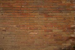 Textura apilada del ladrillo Foto de archivo libre de regalías